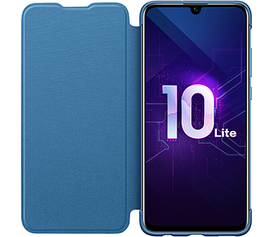 Чехол Honor 10 Lite Flip Cover синий