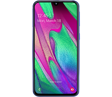 Samsung Galaxy A40 64GB синий [A405FM]