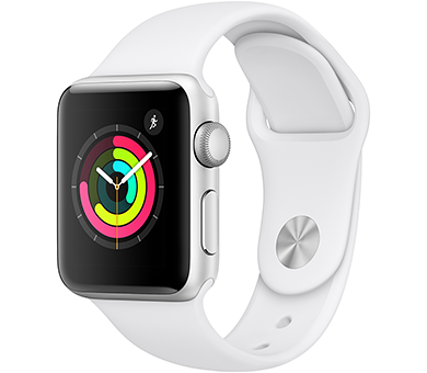 Часы Apple Watch Series 3 38 мм (GPS) серебристый