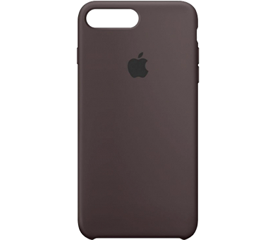 Чехол Apple Silicone Case для iPhone 8/7 Plus черный
