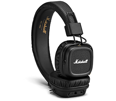 Наушники Marshall Major II Bluetooth черный