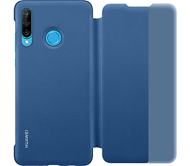 Чехол Huawei Smart View Flip Cover для Huawei P30 lite синий