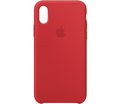 Чехол Apple Silicone Case для iPhone Xs (PRODUCT)RED™ Special Edition
