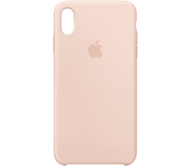Чехол Apple Silicone Case для iPhone Xs Max розовый
