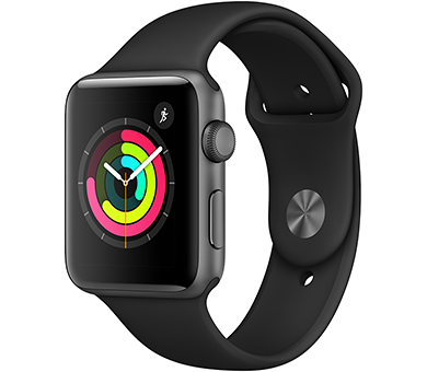 Часы Apple Watch Series 3 42 мм (GPS) серый