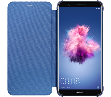 Чехол Huawei Smart View Flip Cover для P smart синий