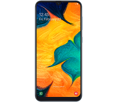 Samsung Galaxy A30 32GB белый [A305FN]